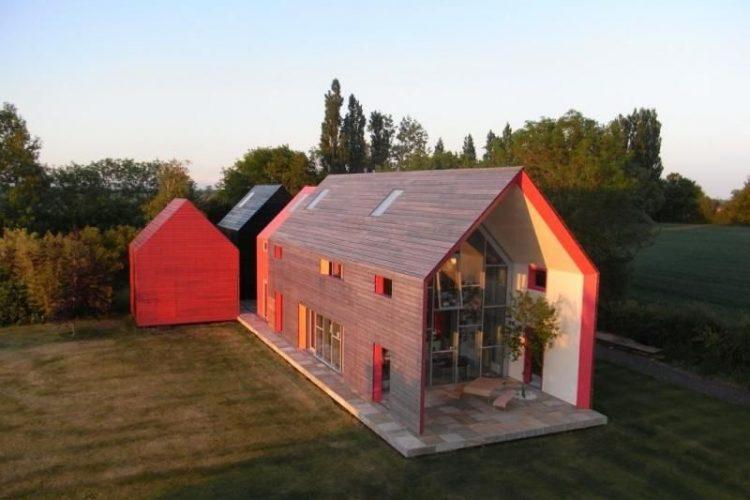 Arquitetura – casa deslizante